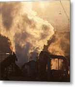 Industrial Florida Metal Print