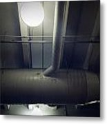 Industrial Interior Metal Print