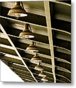 Industrial Lights Metal Print