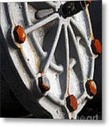 Industrial Object Art Metal Print