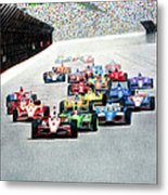 Indy Metal Print by Lyle Brown