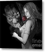 Infatuated  Roses Metal Print