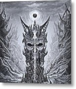 Infinite Death Metal Print
