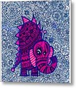 Infinite Pachyderm  Metal Print