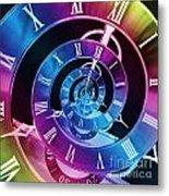 Infinite Time Rainbow 1 Metal Print