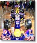 Infiniti Red Bull Formula One Racing Car  Metal Print
