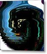 Infinity Jar Drink Me Metal Print
