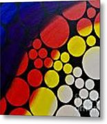 Inflating  Bubbles Metal Print