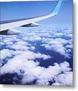 Inflight Entertainment Metal Print