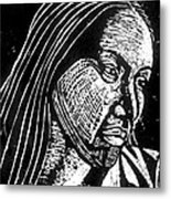Ingrid Washinawatok Metal Print by Jane Madrigal