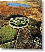 Inishmurray Island County Sligo Ireland Early Celtic Christian Ring Fort Cashel Monastic Settlement  Metal Print