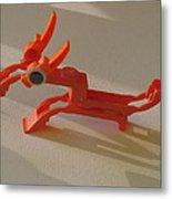 ink cartridge Reindeer Metal Print by Alfred Ng