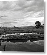 Inle Lake In Burma Metal Print