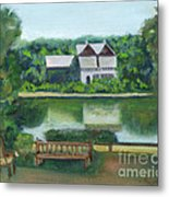 Inn At Lambertville Station Metal Print