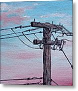 Inner City Power Metal Print
