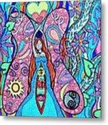 Inner Goddess Metal Print