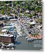 Inner Harbor Metal Print
