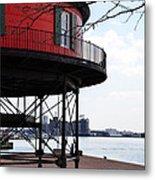 Inner Harbor Lighthouse - Baltimore Metal Print