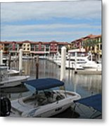Inner Harbor - Naples Metal Print