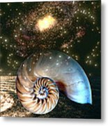Inner Space Outer Space Metal Print
