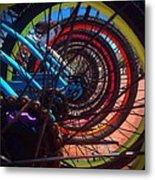 Inner Wheels  Metal Print