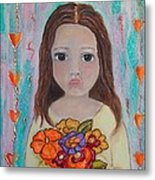 Innocence Metal Print by Anamarie Fox