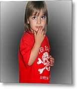Innocent Or Guilty? Metal Print