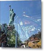 Innovation As Reflection Of Human Liberty Metal Print