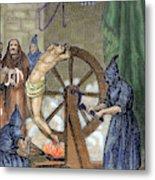 Inquisition Instrument Of Torture Metal Print