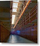 Inside Alcatraz Metal Print