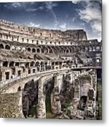 Inside Colosseum Metal Print