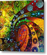 Inside Consciousness  Metal Print
