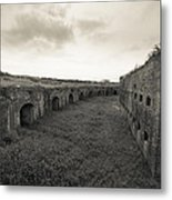 Inside Fort Macomb Metal Print