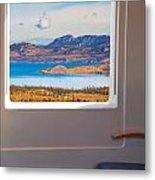 Inside High-speed Train Metal Print