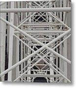 Inside Of The Ferris Wheel Metal Print