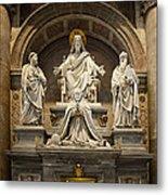 Inside St Peters Basiclica - Vatican Rome Metal Print