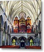 Inside The Cathedral  Metal Print