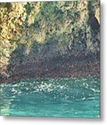 Inside The Cave Metal Print