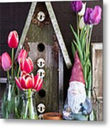 Inside The Garden Shed Metal Print