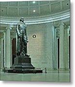 Inside The Jefferson Memorial Metal Print