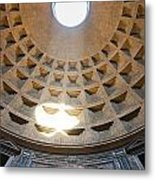 Inside The Pantheon - Rome - Italy Metal Print