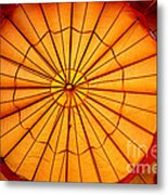 Inside The Red Baloon Metal Print