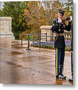 Inspection Metal Print
