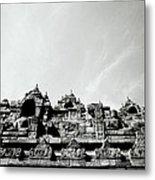 Inspiration At Borobudur Metal Print