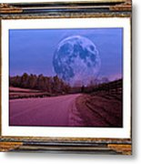 Inspiration In The Night Metal Print