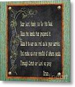 Inspirational Chalkboard-d2 Metal Print