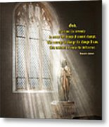 Inspirational - Heavenly Father - Senrenity Prayer  Metal Print