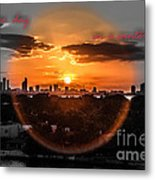 Inspirational--summer Day On A Winters Night Metal Print