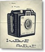 Instant Artist Metal Print by Edward Fielding