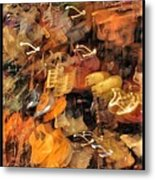 Instrument Abstract  Metal Print